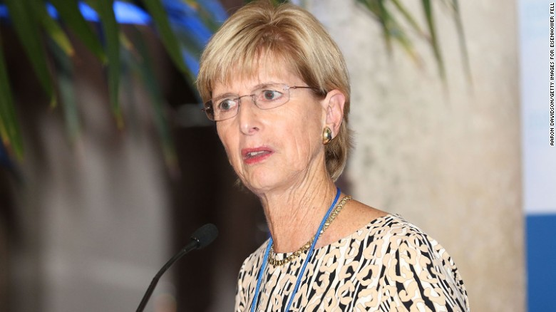 Christine Todd Whitman attends Making Strides: Advancing Women's Leadership - Opening Reception at Vizcaya Museum & Gardens on November 17, 2015 in Miami, Florida.