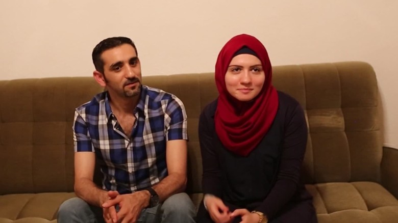 Small German town welcomes Syrian couple