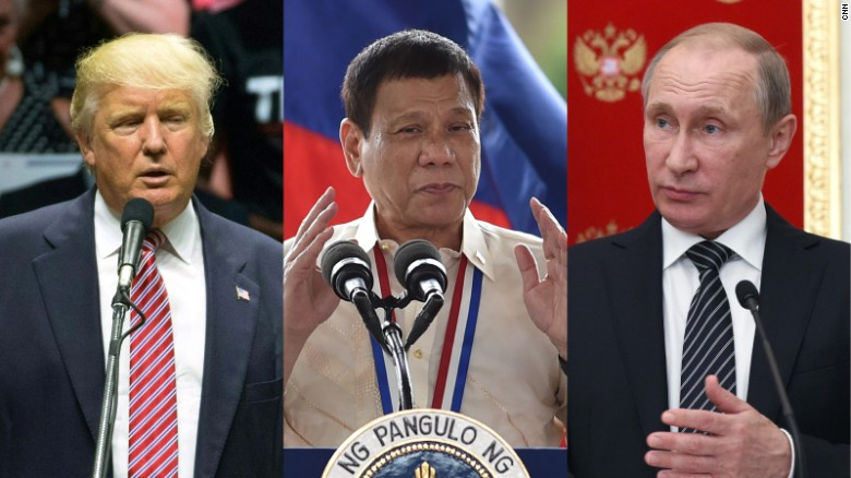 Image result for Duterte and Putin