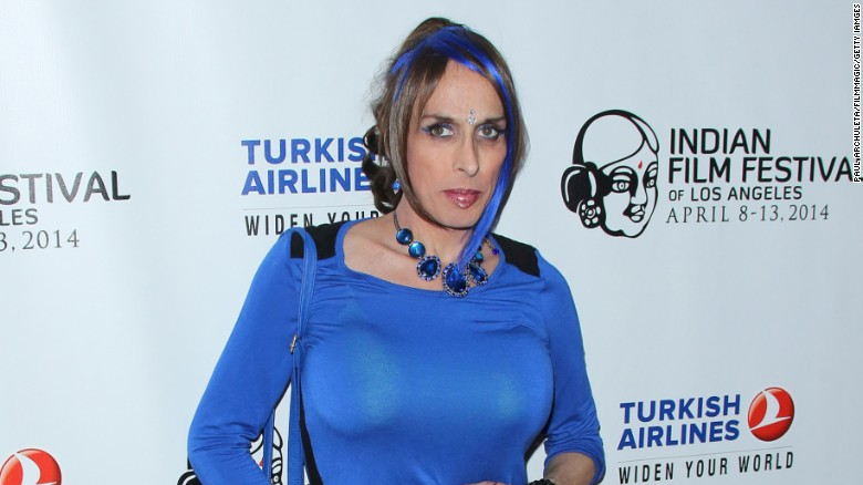 Alexis Arquette attended the Indian Film Festival of Los Angeles on April 8, 2014 in Hollywood, California.