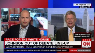 Gary Johnson vows to fight on