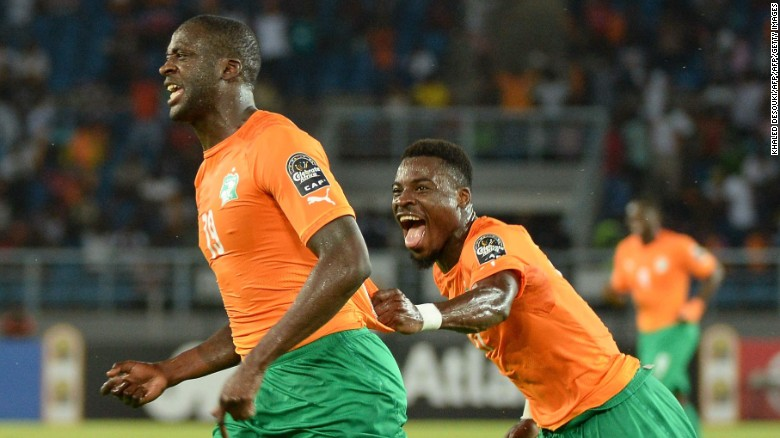 Toure won 113 caps for Ivory Coast.