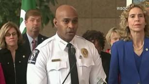 Chief: We found a gun, not a book
