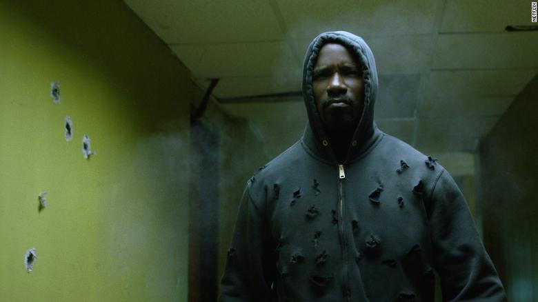 "Mike Colter stars as the title character in ""Luke Cage."""