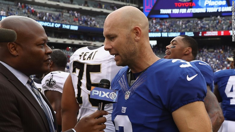 Josh Brown joined the New York Giants in 2013