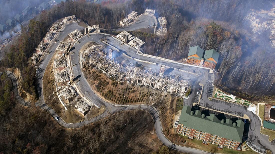 Fall In The Smokies Wallpaper Gatlinburg Tn Suffers Severe Wildfire Damage 13 People