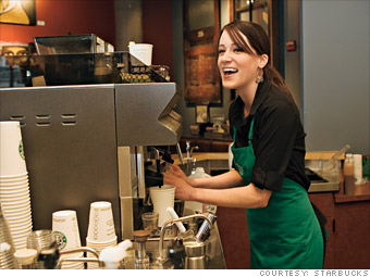 Starbucks Best Companies To Work For 2013 Fortune