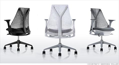 ergonomic chair staples dining slipcover patterns savvy spending: herman miller sayl, the new office - oct. 22, 2010