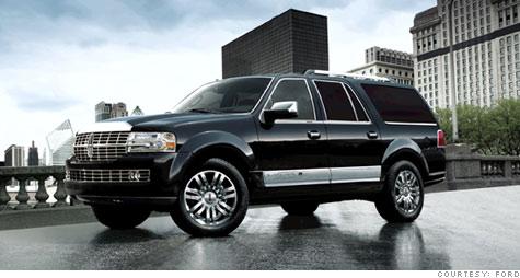 Tuxedo Black Lincoln Navigator