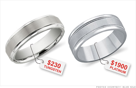 Tungsten Cobalt Steel Replacing Gold In Wedding Rings