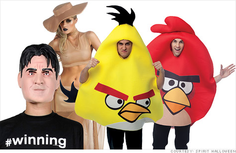 Charlie Sheen is the most popular Halloween costume for 2011
