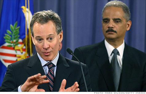 New York Attorney General Eric Schneiderman has sued the big banks over their use of an electronic mortgage registry.