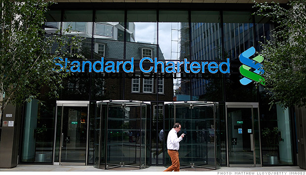 Standard Chartered fined $327 million for violating sanctions - Dec. 10, 2012