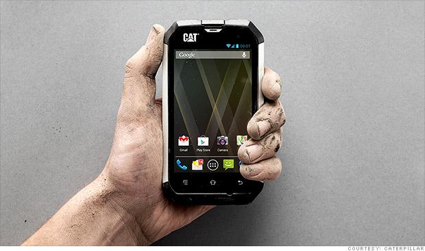 """Caterpillar lanza un teléfono """"indestructible"""""""