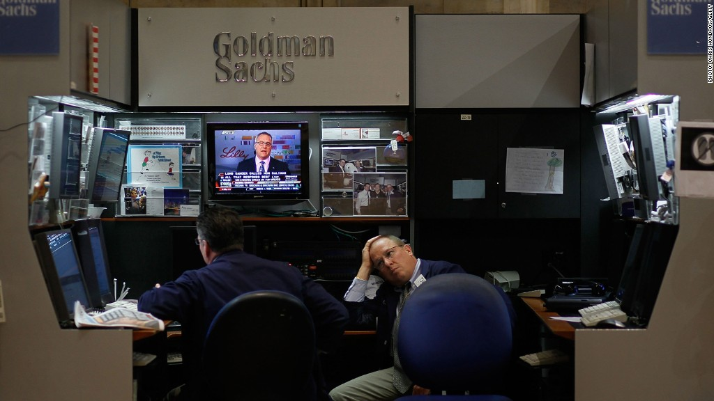 Goldman Sachs still sorting impact from trading glitch