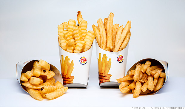 burger king new fries
