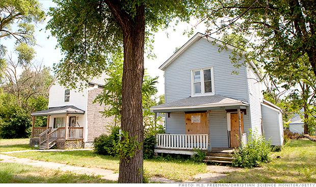 foreclosure occupied
