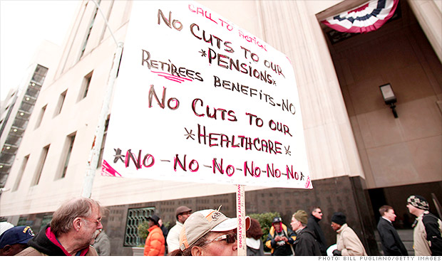 detroit bankruptcy protests
