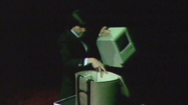 Watch Steve Jobs unveil the Mac