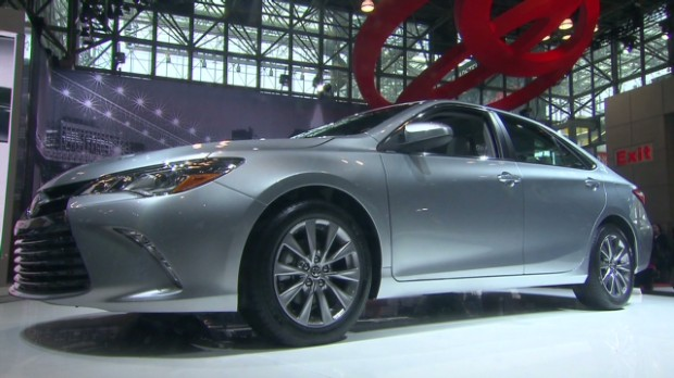 Toyota Camry gets a facelift