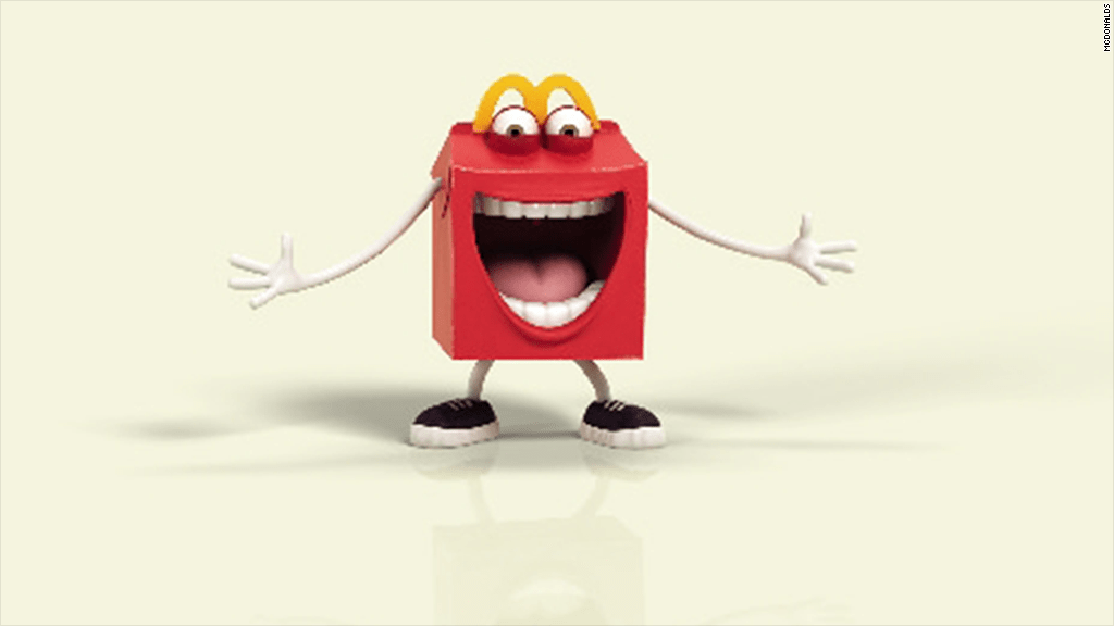 McDonald's scary Happy Meal mascot