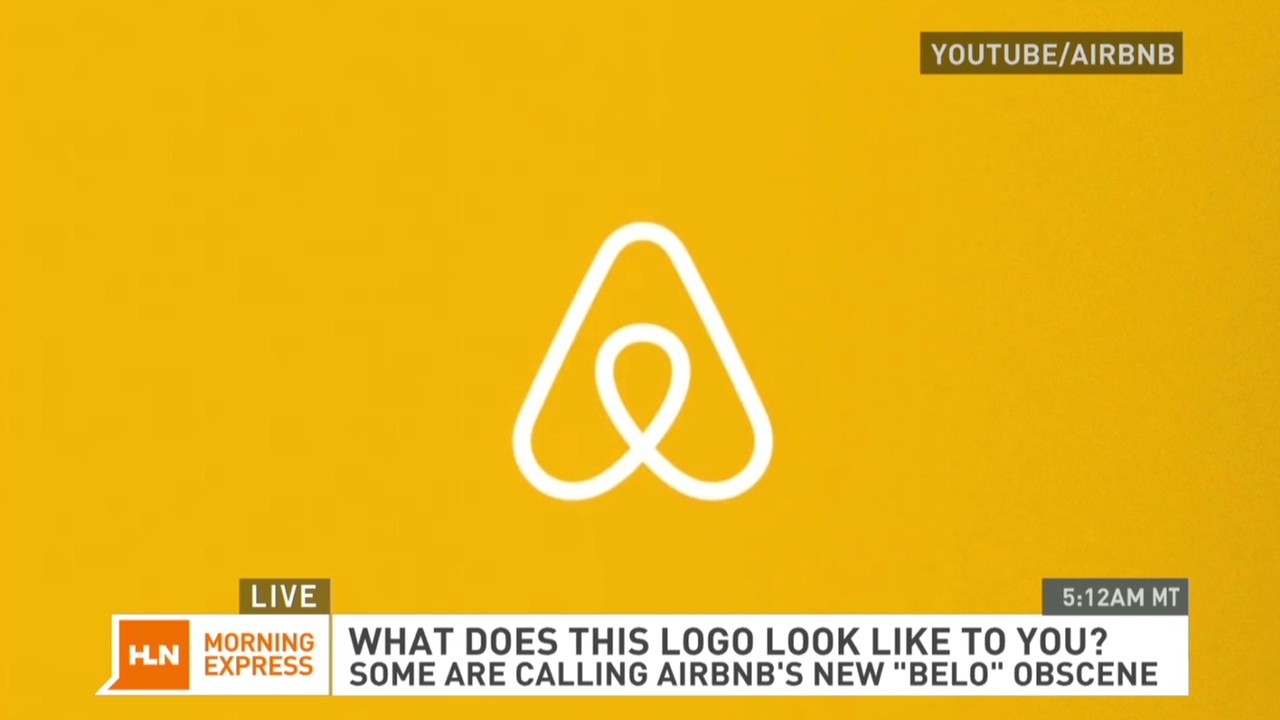 Airbnb's new logo; crude or creative? - Video - Business News