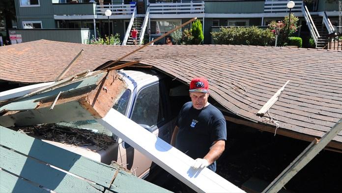earthquake damage napa