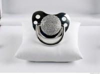 This fancy diamond pacifier - 5 novelty gifts for people ...
