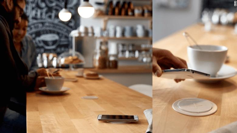 ikea furniture charge phones