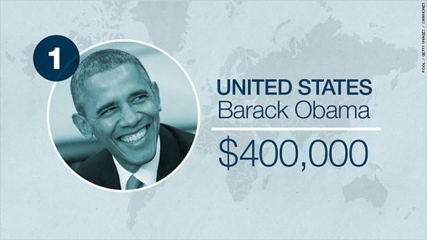 world leader salaries usa