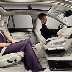 Revolving Chair For Baby Swivel Kitchen Chairs Volvo Debuts New Seat In The Front