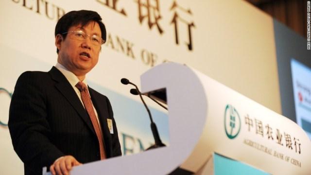 china missing exec zhang yun