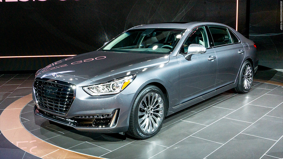 Genesis G90 Cool Cars From The Detroit Auto Show CNNMoney