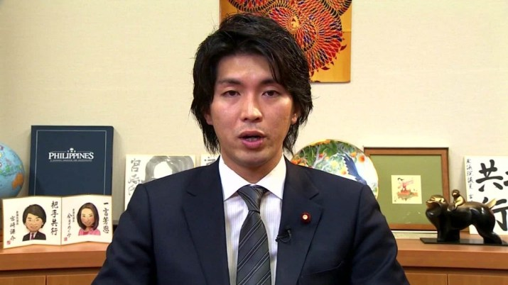 Japanese MP stirs debate over paternity leave