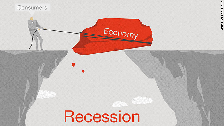 Image result for america now in recession