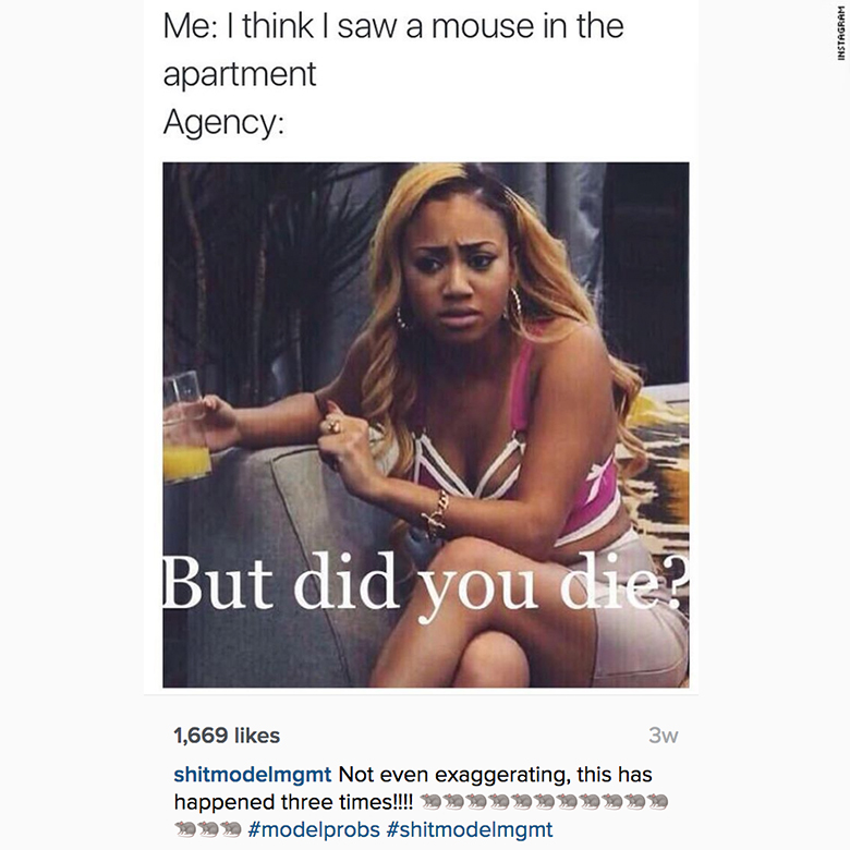 runway injustice instagram mouse