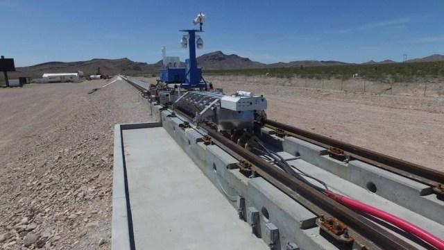 See Hyperloop One's first high-speed test