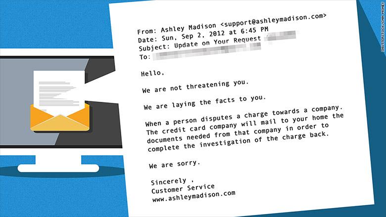 ashley madison customer service email 1