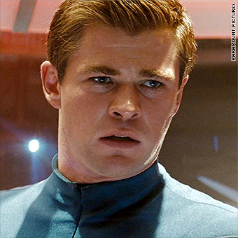 Image result for chris pine captain kirk paramount