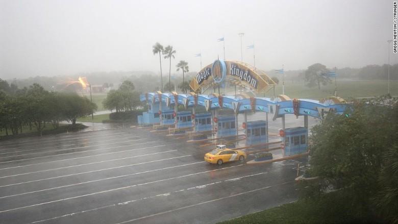 Disney World After Hurricane Matthew