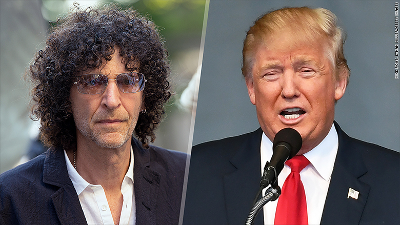Image result for photos of TRUMP AND HOWARD STERN