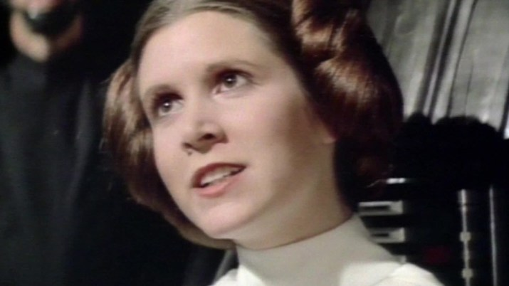 Carrie Fisher, 'Star Wars' Princess Leia, dies at 60