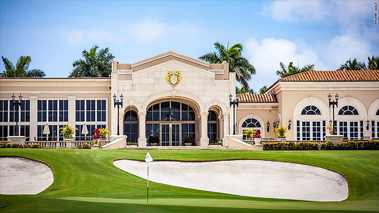 Image result for photos of president at golf club in West Palm Beach, Fl.,