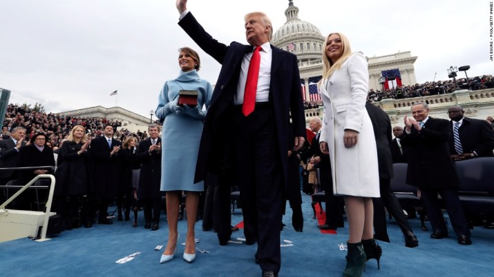Moments from Pres. Trump's inaugural address