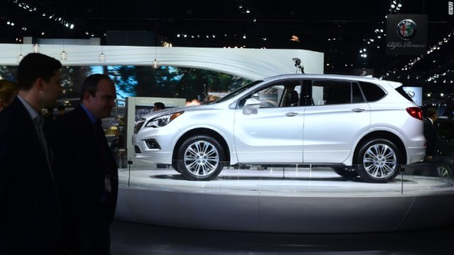 buick envision los angeles autoshow