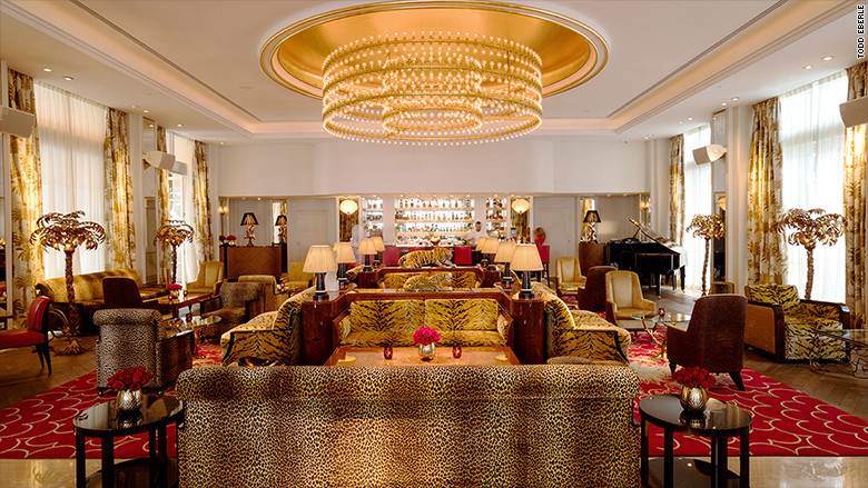 The Living Room at the Faena Hotel, Miami, Florida