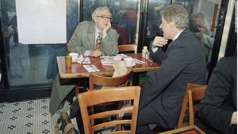 Jimmy Breslin Bill Clinton 1992