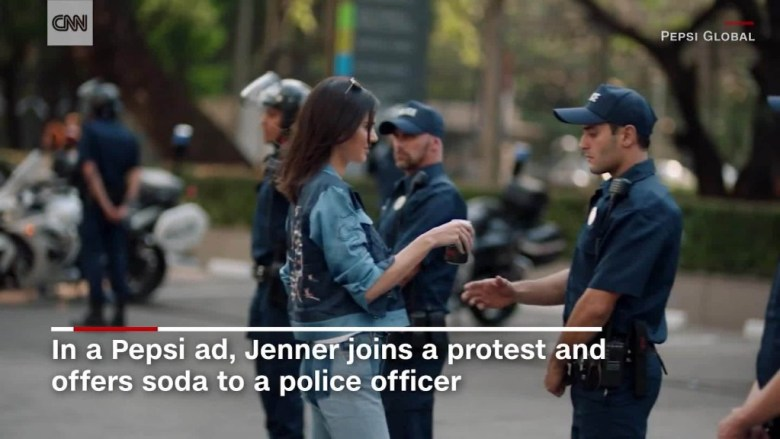 Kendall Jenner's ad sparks controversy