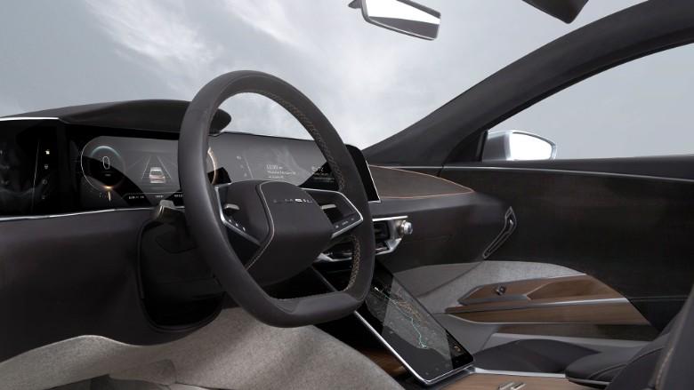 Lucid Air interior