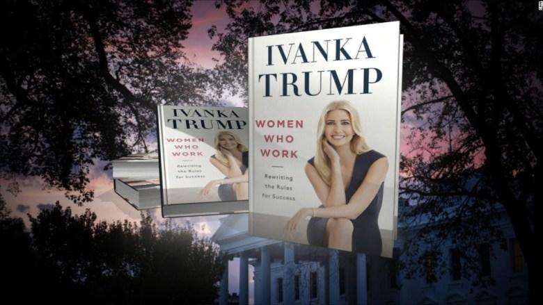 Critics vessel Ivanka Trump's new book